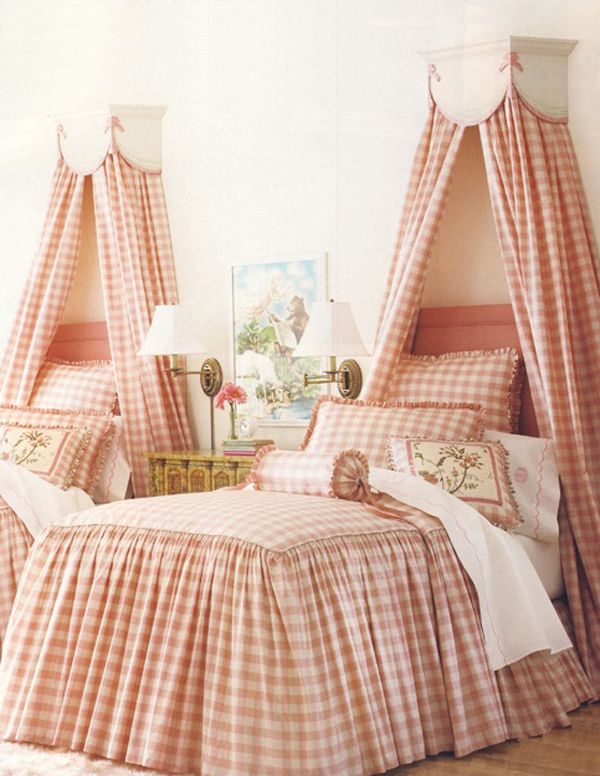 Charming in Charlotte: Trend Loving: Buffalo Check  i had pink gingham check bedspread growing up, and maybe wallpaper?