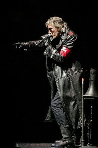 Roger Waters during The Wall Tour