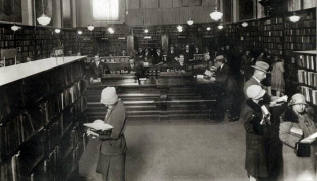 SMSA Library circa 1920s (old building)