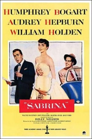 Films with fashion influence - 1954 Sabrina poster