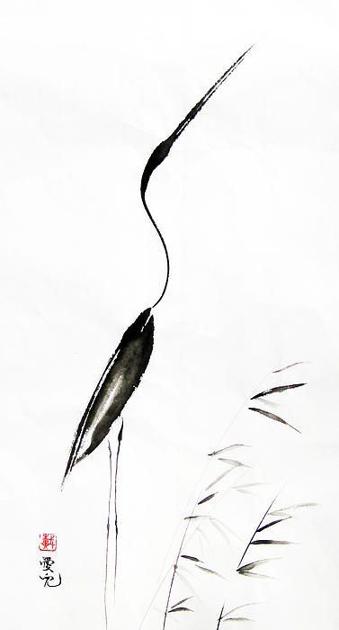 Amazing what some ink on rice paper can yield - so simple, so beautiful!
