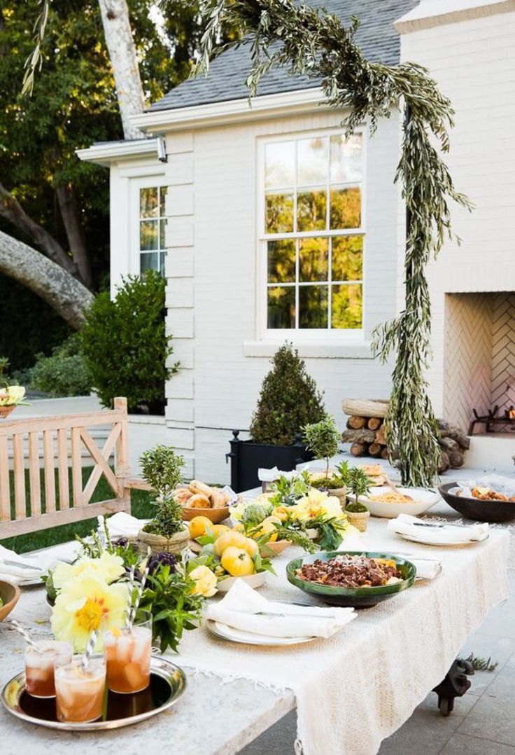 106 best Garden Parties images on Pinterest Garden parties Dinner