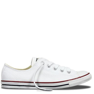 Converse Women's low ct Dainty Canvas in Optical White