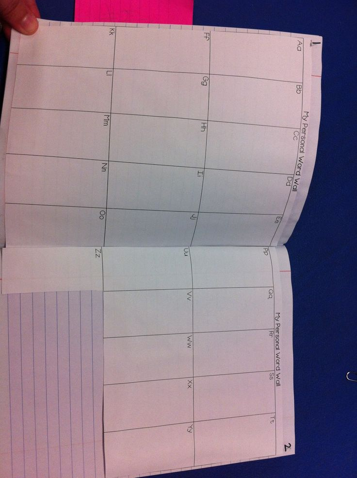 Has a personal word wall for misspelled words, kept in notebook...what about a word wall for personal vocabulary?