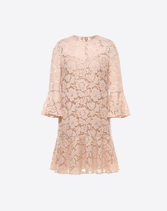 Are you looking for Valentino Heavy Lace Dress? Find out all the details at Valentino Online Boutique and shop designer icons to wear.