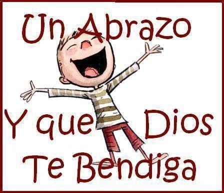 Un abrazo.. y que DIOS te bendiga.. <3 ..A hug.. and may GOD bless you!