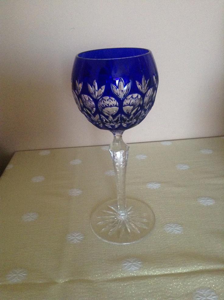 Florderis Wine Glass by Magda Németh