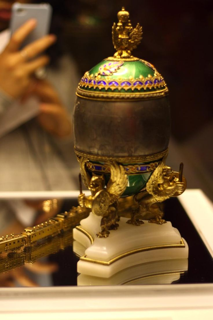 153 best faberge eggs imperial images on pinterest faberge 1900 the trans siberian railway egg is a jewelled easter egg made under the supervision negle Gallery