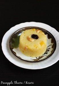 pineapple sheera recipe | pineapple kesari recipe