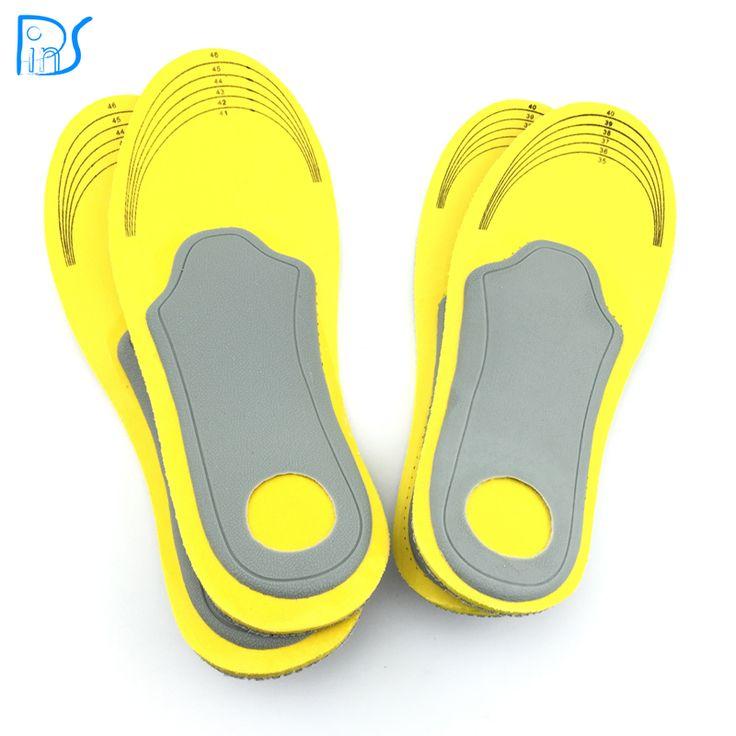 Voetverzorging 1 paar 3D premium vrouwen mannen comfortabele schoenen orthopedische inlegzolen inserts hoge steunzool pad