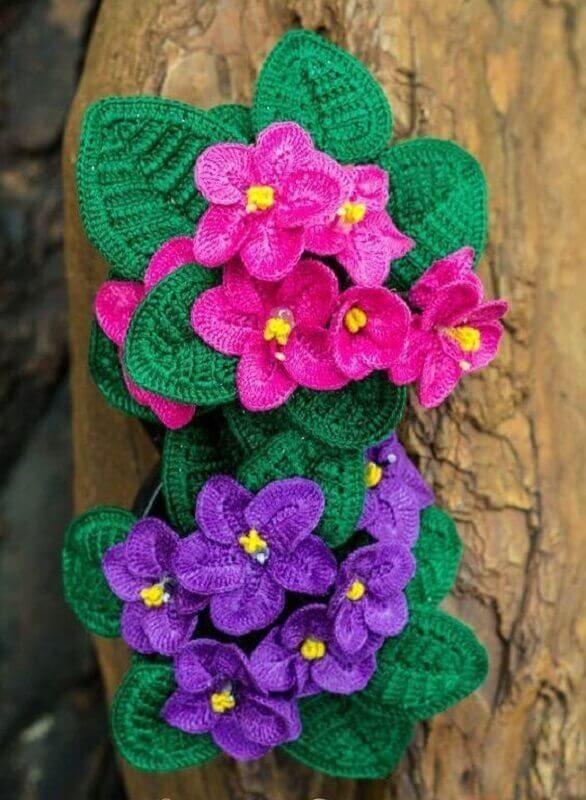 2928a3bc7 Folhas de Crochê: 36 Modelos para Inspirar Você | Blossoms ...