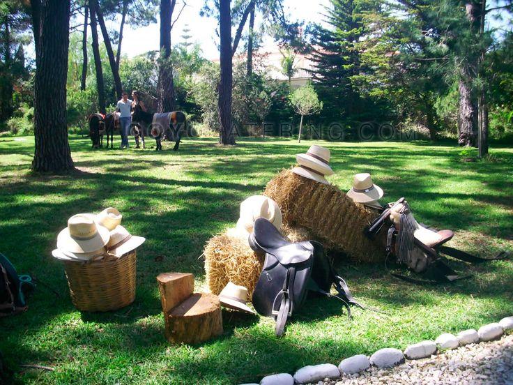 #Decoración ecuestre ----- Decoration | Goyo #Catering (2014) #fair #feria #Sevilla #Seville #Marbella #Andalucia #horses