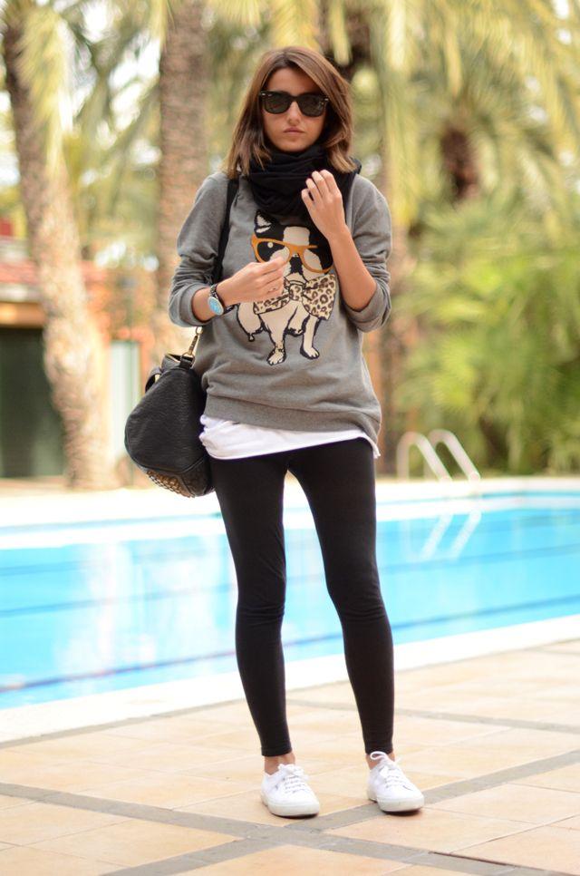 Pool/Lovely Peppa/legging/Sweater/Superga
