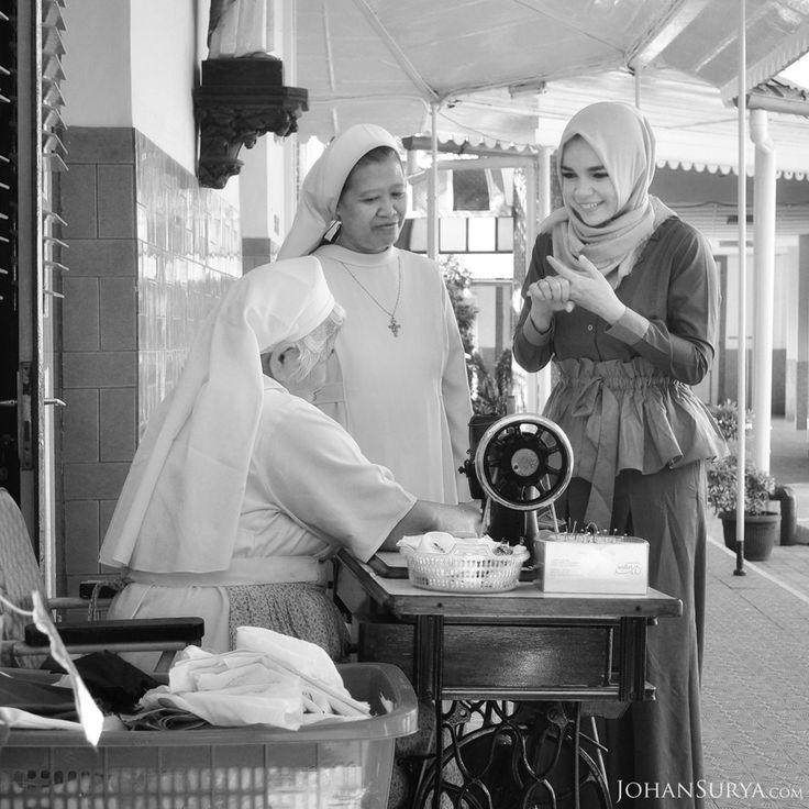Cerita Dewi Sandra - Komplek Susteran Gedangan Semarang