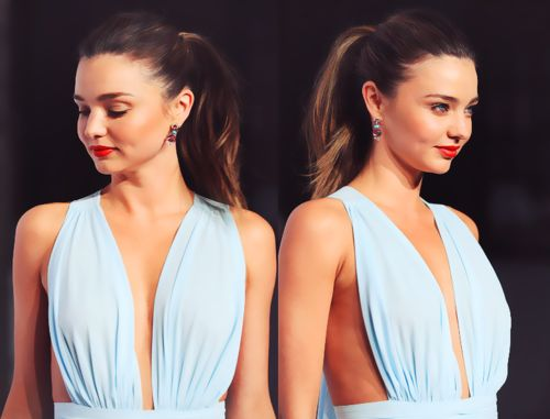 too pretty: Miranda Kerr, Mirandakerr, Fashion, Style, Dress, Beautiful, Beauty, Hair