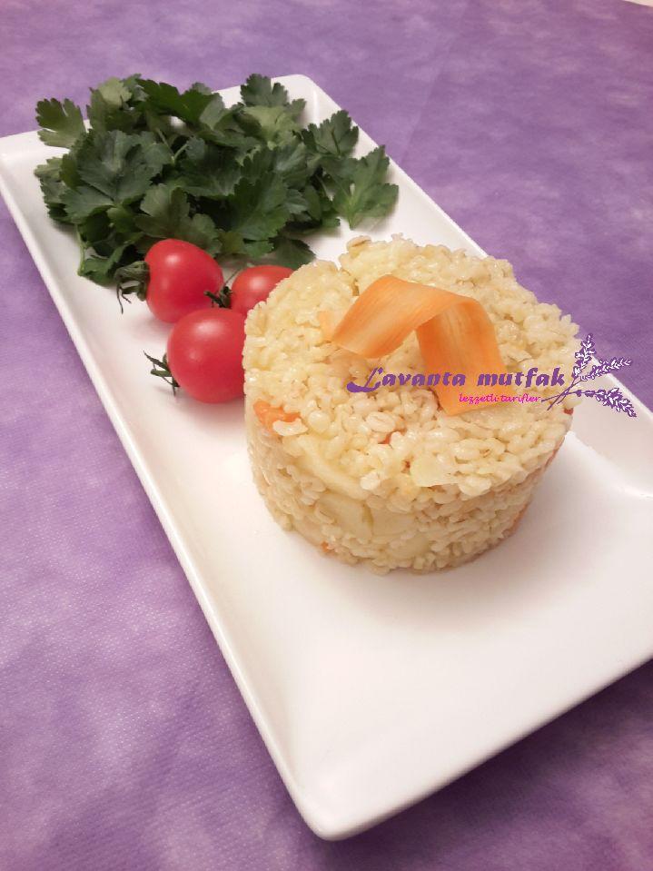 Havuçlu Patatesli Bulgur Pilavı