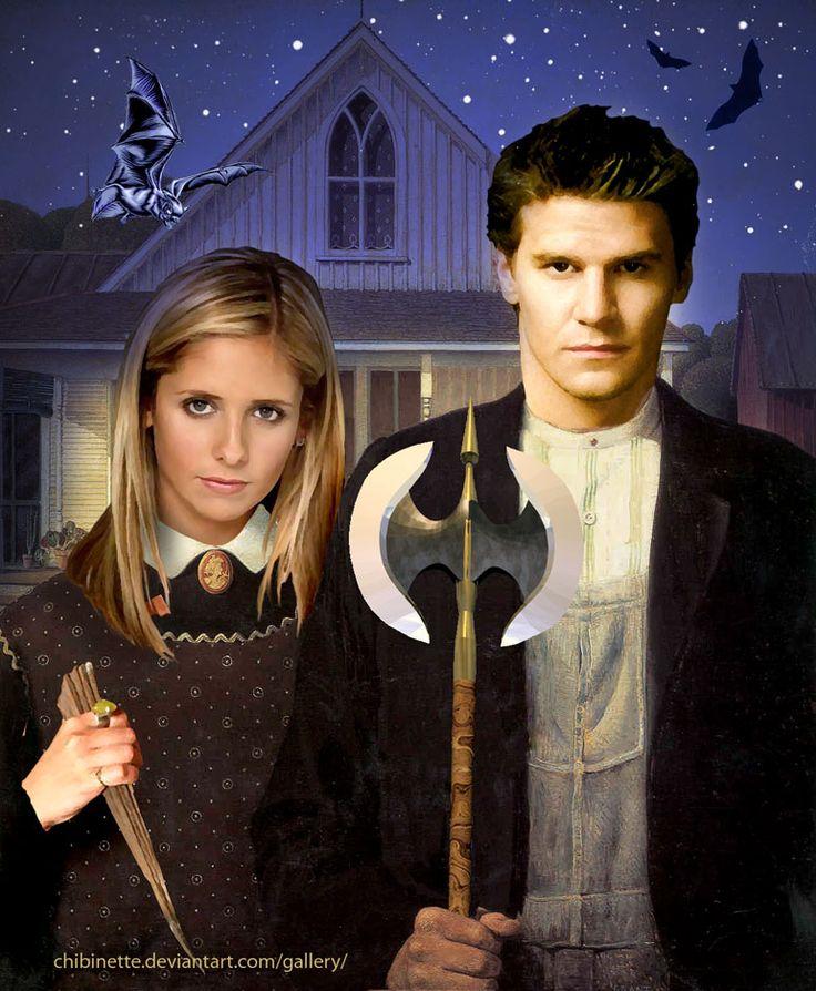 American Gothic Buffy by Chibinette.deviantart.com on @deviantART