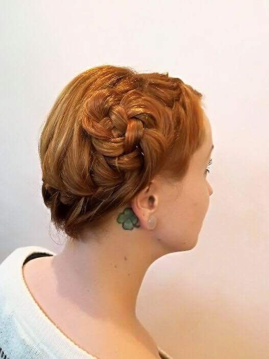 #braids #hairstyle #party #inspiration #copperhair