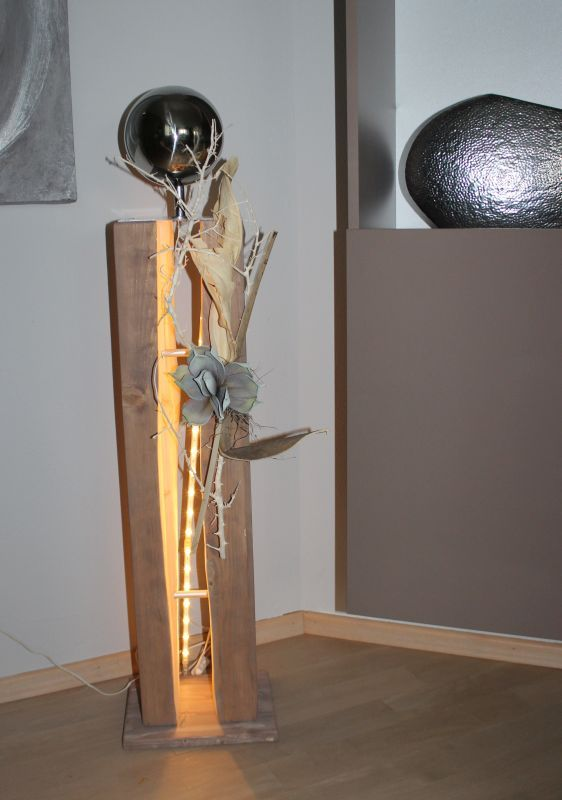 gs81 gro e dekos ule f r innen und aussen gro e gespaltene holzs ule cappuccinofarbig gebeizt. Black Bedroom Furniture Sets. Home Design Ideas