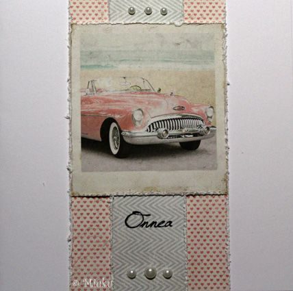 Greeting card. Papers: Maja Design Summer Crush. / Onnittelukortti