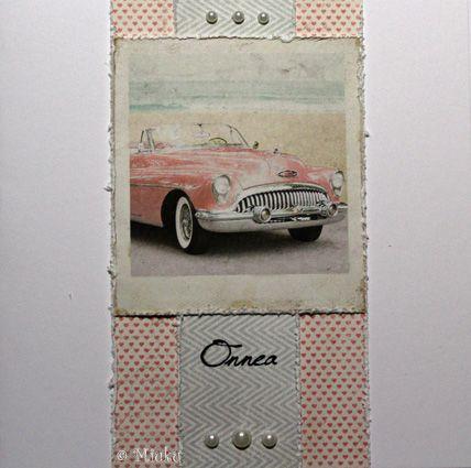 Greeting card. Papers: Maja Design Summer Crush. / Onnittelukortti