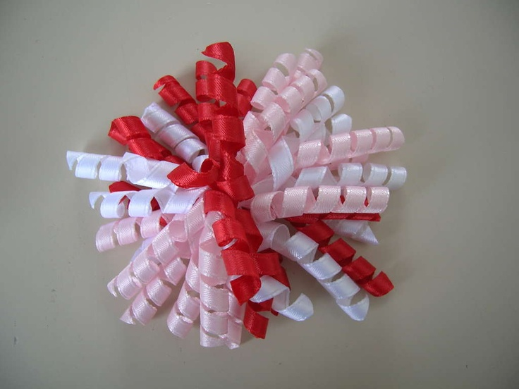 How to make curly bows or just curl ribbon for other craft projects.
