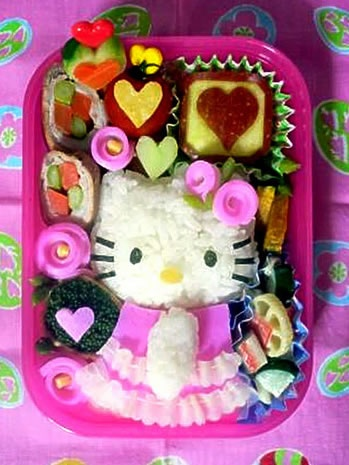 Hello Kitty Bento Box  houseofkittyblog....