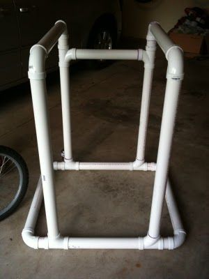 Homemade Dip Station... from PVC pipe/tube