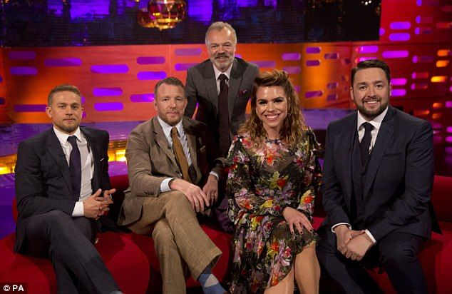 Star studded: Graham Norton's upcoming show will also feature actress Billie Piper and comedian Jason Manford