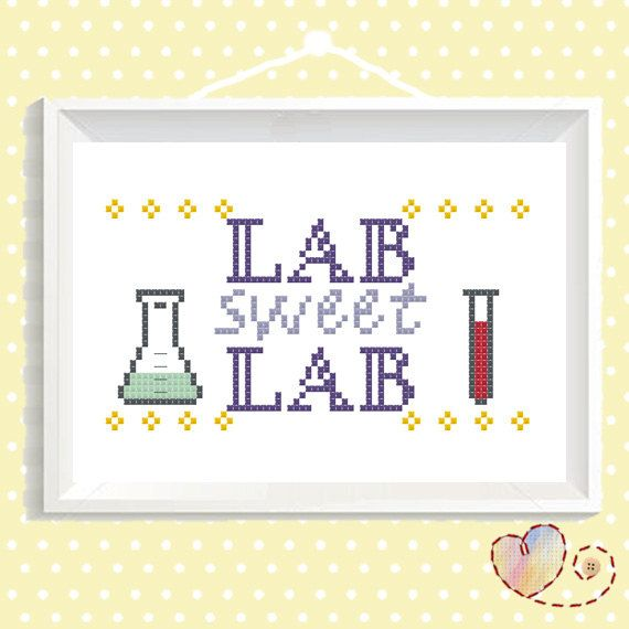 Nerdy Cross Stitch  DIY Embroidery Quote  Geeky by SundownStitcher