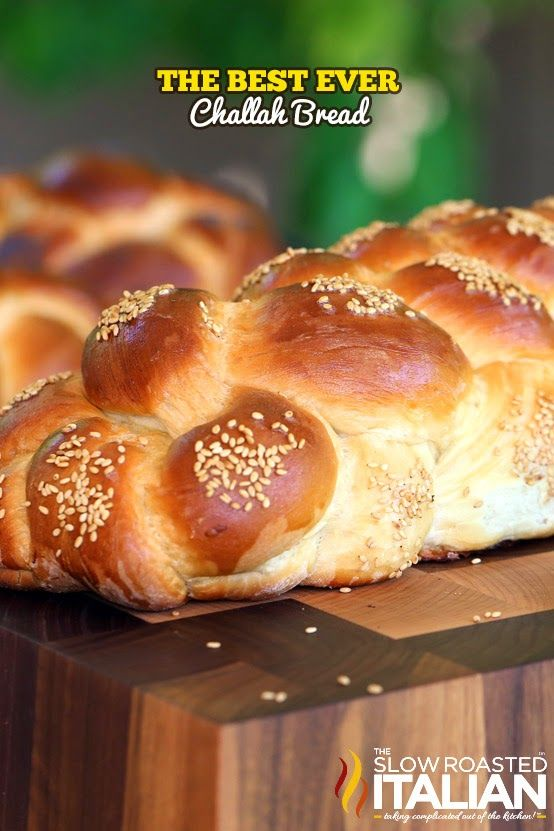 The Best Ever Challah Bread From Recipe from @SlowRoasted