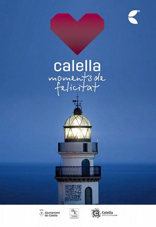 Ajuntament de Calella - Cartell campanya Calella, Moments de Felicitat - photo: Joan Maria Arenaza | Fotograf Calella Barcelona | Fotografo MODA | Fotografia Comercial Profesional
