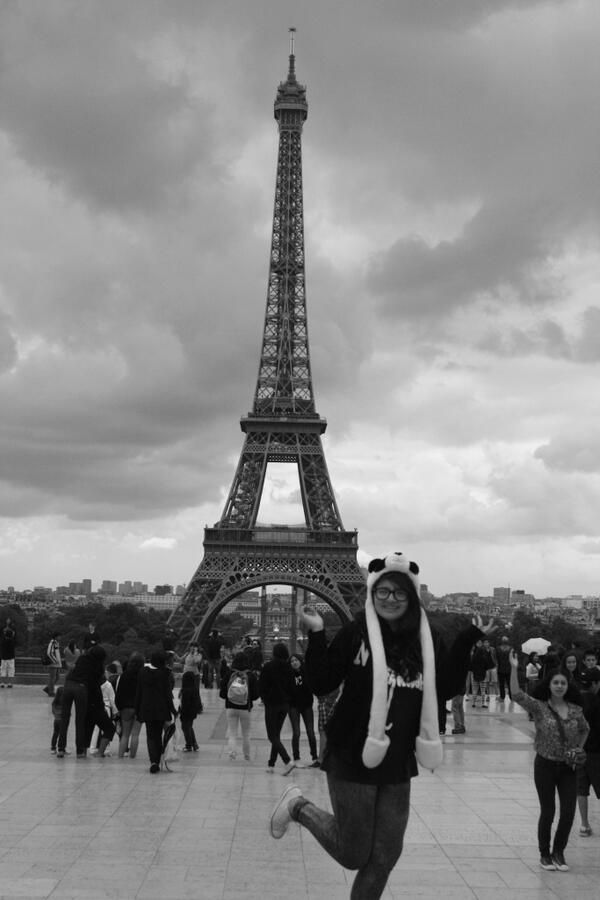 2013 Magical trip <3 #Paris #China #EiffelTower #Friends #Perfect