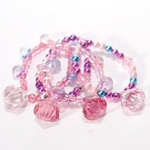 """One Princess Jewel Bracelet (incl one no color varies) by Century Novelty. $0.98. Party like a Pretty Princess! Let all the little girls party like pretty princesses. A princess themed party is perfect for any girl birthday or anytime party theme. Assorted styles. 2"""" long and wide. 1"""" jewel pendant attached to bracelet. Bracelet is on elastic stretch band. One size fits most. Have the perfect princess party with all the best princess party favors and give a ways. Surprise yo..."""
