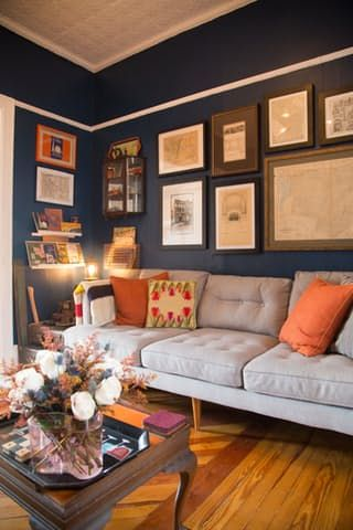 Tour: A Tiny Townhouse in Brooklyn for History Lovers | Apartment Therapy