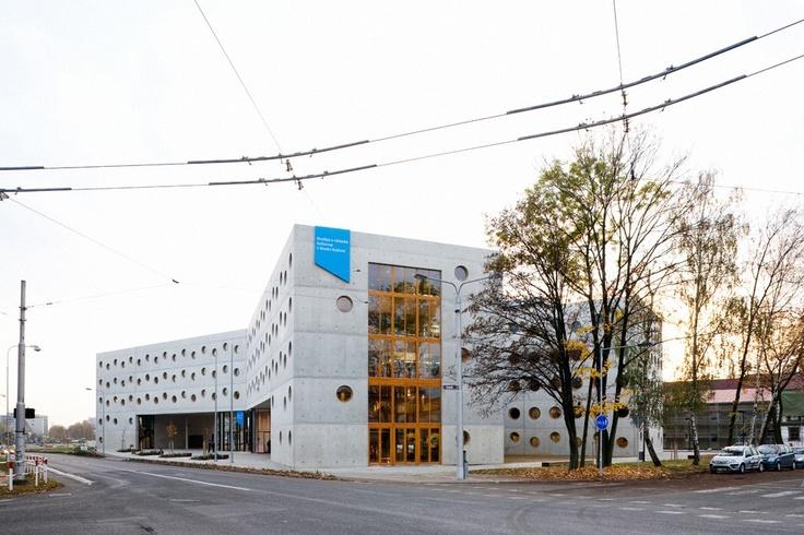 Hradec králové research library chechz republic. Projektil architekti