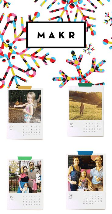 Make the season bright with personalized cards, calendars, and more from Makr. Makers gonna make.   http://makr.co/collections/holiday-kits/?utm_source=Pinterest&utm_medium=1.77P