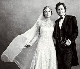 Casamento country de Lauren Bush e David Lauren