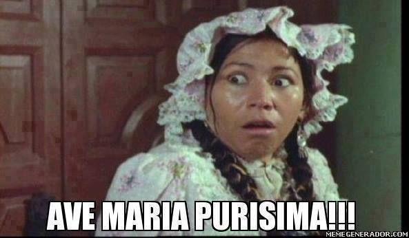 Ave María Purísima