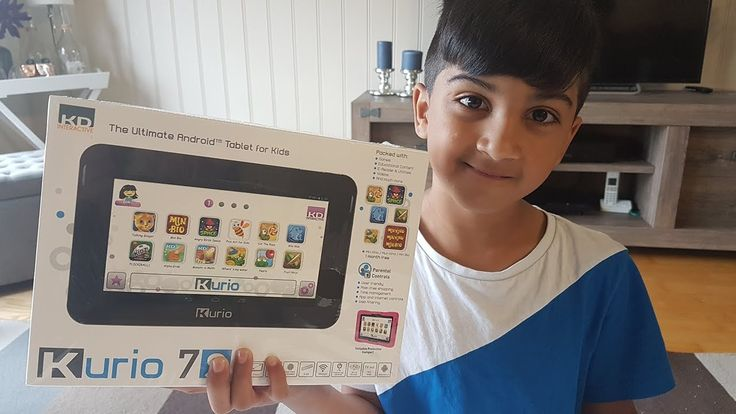 Kurio 7s Android Tablet for Kids Unboxing