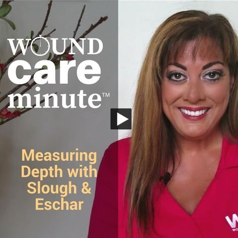 In this 90-second video, WCEI co-founder Nancy Morgan explains how to measure wound depth when there's slough or eschar in the way. via @woundcareeducat