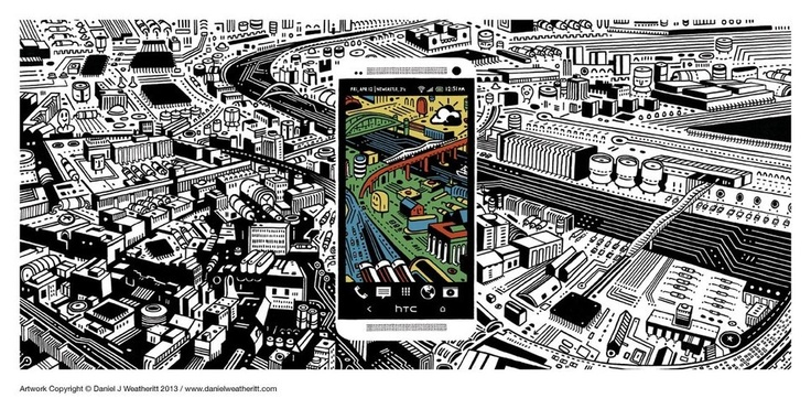 """""""HTC Billboard"""" By Daniel Weatheritt"""