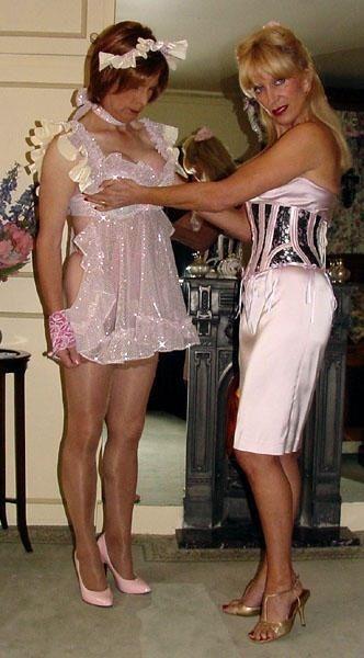 Mrs silk transvestite