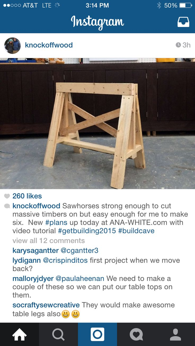 1000+ images about sawhorse on Pinterest | Folding ...
