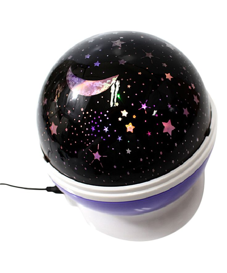 Superb AZ Trading and Import Purple Night Light Projection Lamp