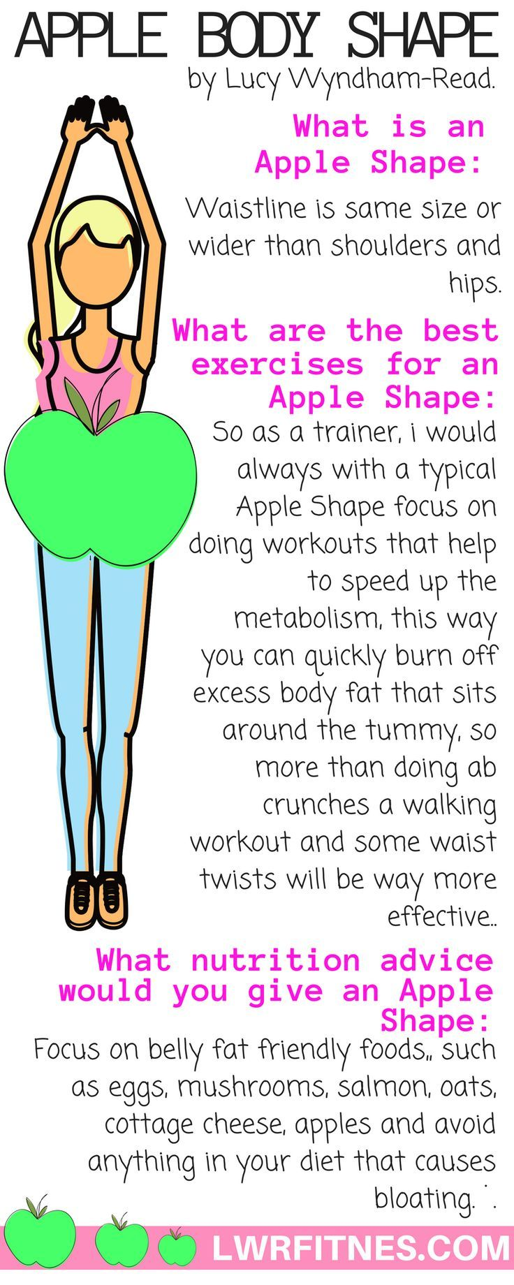 52 best Apple shape diet and workouts images on Pinterest ...