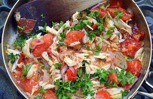 Recept  Jaarrond  Salade  Tomaat  Krab