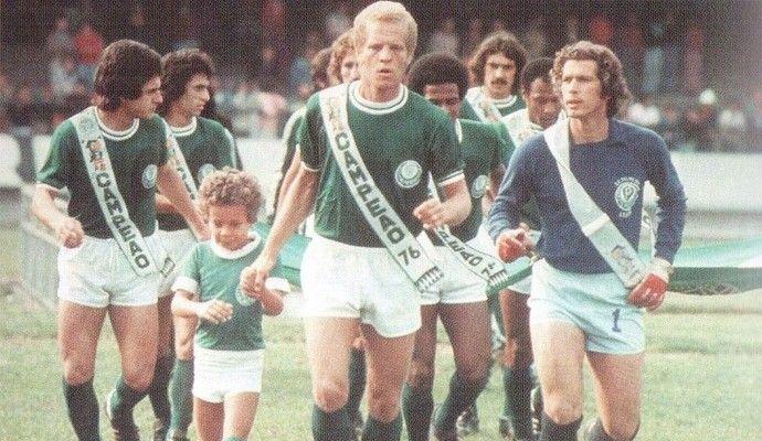 Ademir da Guia Palmeiras 1976 (Foto: Divulgação/ Site Oficial do Palmeiras)
