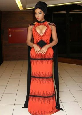 Welcome to Desmond's Blog: [Photos] Bonang Matheba steps out in style for AFR...