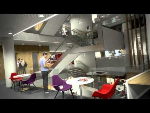 The University Of Leeds Is Building A New Flagship Library Which Purpose Designed To
